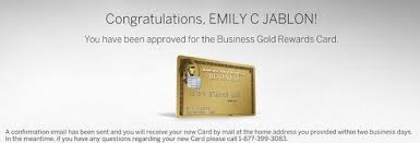 Business Gold Rewards Card From American Express Amex Business Gold Application Million Mile Secrets
