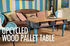 diy wood pallet coffee table with mr kate youtube