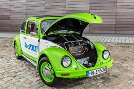 green volkswagen beetle the car of the people once again electric vw beetle conversion