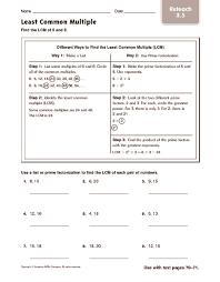 all worksheets lcm worksheets for grade 4 printable worksheets