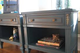 Blue And Gold Home Decor Ringing In The New Year In Blue And Gold Pair Of Nightstands U2014 A