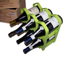 Casier A Bouteille Terre Cuite by Casiers 6 Bouteilles Vert Kiwi 90809 Achat Vente Range