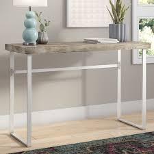 Registry Row Desk Mercury Row Ponticus Console Table U0026 Reviews Wayfair