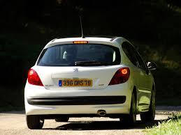 peugeot door 207 hatchback 3 door 1st generation facelift 207 peugeot