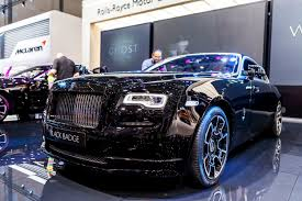 roll royce black geneva 2016 rolls royce u0027 new black badge label