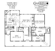 palmetto house plan house plans by garrell associates inc