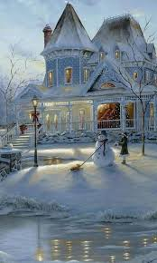233 best kinkade images on drawing