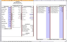 Food Cost Spreadsheet Free by Food Cost Calculation Form