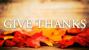 thanksgiving celebrations for the home discipleship ministries