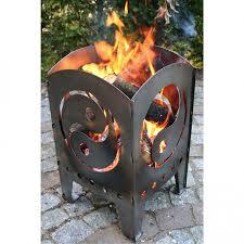 Schlafzimmer Yin Yang Feuerkorb Feuersäule 36x37x75cm Motiv Yin Yang Gr Xxl Stahl