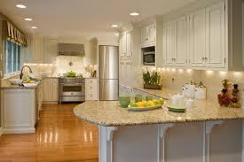 kitchen cabinets with light granite countertops santa cecilia granite countertops for a fresh and modern kitchen