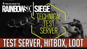 siege test medcast technical test server hitbox änderungen loot rainbow