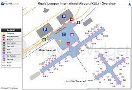 Airport Terminal Floor Plan by Kuala Lumpur International Airport Reviews Travel Guru Reviews