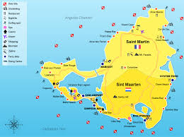 map of st martin welcome to st maarten stmartinbookings com