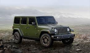 green jeep patriot jeep rolls out 75th anniversary editions