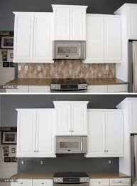 how i transformed my kitchen with paint painted tiles big and