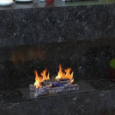 Propane Fireplace Logs by Fireplace Log Sets You U0027ll Love Wayfair