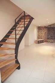 escalier peint en gris les 25 meilleures idées de la catégorie deco escalier sur