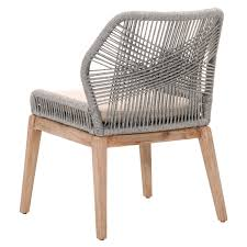 Shop Dining Chairs Set Of Two Luca Platinum Woven Dining Chairs Shop Dining Chairs
