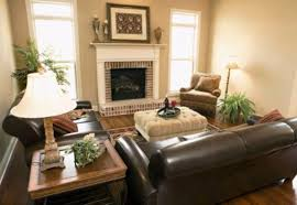 Delicate Living Room Interior Classy Home Decor With Wooden Wall - Home decor living room images