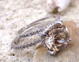 diamond wedding ring sets bridal sets etsy