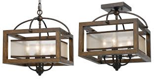 flush mount lantern light ceiling lights amazing rustic semi flush ceiling lights rustic