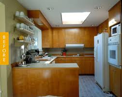 before u0026 after 1960s kitchen grows up and out kitchn