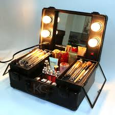 professional makeup artist lighting lighting rolling makeup with light mirror view rolling