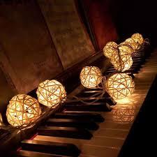 rattan ball fairy lights rattan ball string fairy lights themoonluxe