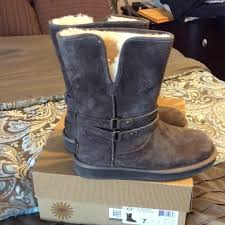 womens ugg palisade boots 55 ugg other uggs palisade chocolate brown boot from