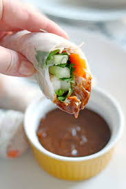 where to buy rice wrappers shrimp rolls with spicy hoisin peanut sauce