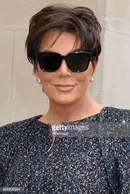 what is kris jenner hair color chanel outside arrivals paris fashion week womenswear fall