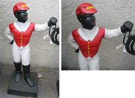 lawn jockeys aplenty auction finds