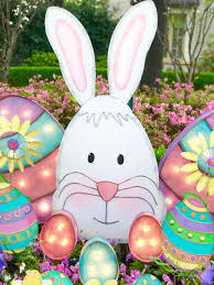 outdoor easter decorations outdoor easter decorations turtle creek