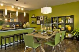green paint color for dining rooms with cream kitchen wall home