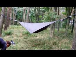 hennessy hammock u0027explorer asym zip u0027 youtube