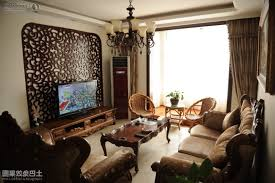 Chandelier Room Decor Living Room Ideas For Small Apartment Brown Carpet Combine Wood