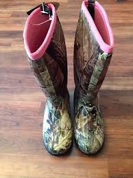 womens bogs boots size 11 womens bogs tree camo boots pink trim waterproof size 8