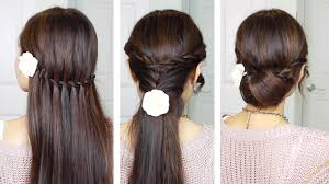 quick u0026 easy holiday hairstyles with twist braids youtube