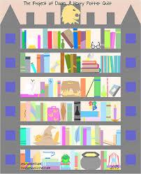 Bookshelf Quilt Pattern Fandom In Stitches Harry Potter Bookcase Quilt Along Pattern
