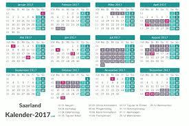 Kalender 2018 Hamburg Feiertage Ferien Saarland 2017 Ferienkalender übersicht