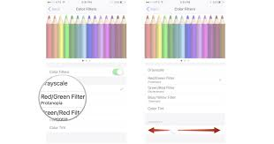 What Color Goes With Light Pink by How To Use Display Accommodations And Color Filters On Iphone And