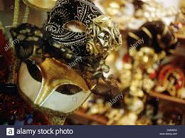 carnival masks for sale venetian carnival masks on sale in shop window venice italy stock