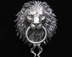 lion door knocker lion door knocker etsy