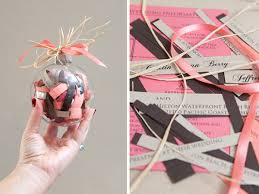 diy wedding invitations how to make a diy wedding invitation ornament