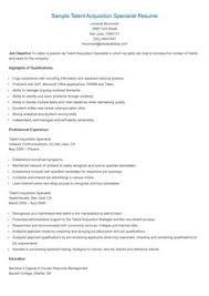 Sample Talent Resume by Sample Student Support Specialist Resume Resame Pinterest