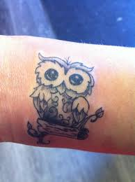 owl tattoo simple cute owl tattoo tattoos smalltattoos tattoos pinterest