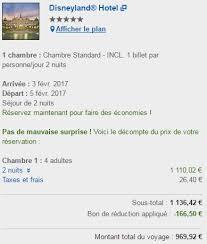 prix chambre disneyland hotel nuitées sèches de retour sur expedia hotels com ou ebookers