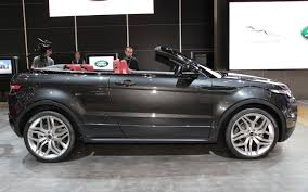land rover evoque black convertible we hear seven seat range rover evoque range rover sport in works