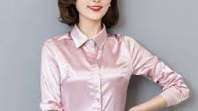 womens silk blouses satin white blouse the blouse